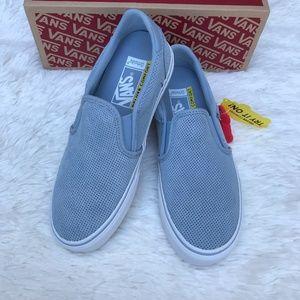 New Vans Asher Deluxe Slip-On Sneaker